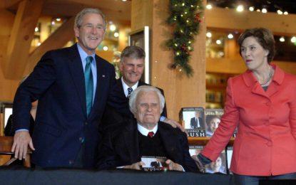 Muere Billy Graham, el consejero espiritual de los presidentes de EU