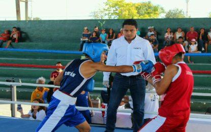 Realizan en Kanasín función de box amateur para formar futuros talentos