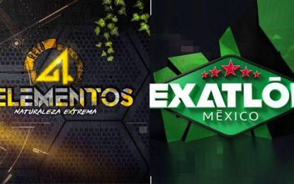 Televisa quiere robarse la audiencia de 'Exatlón', ¡con la copia 'Reto 4 Elementos'!