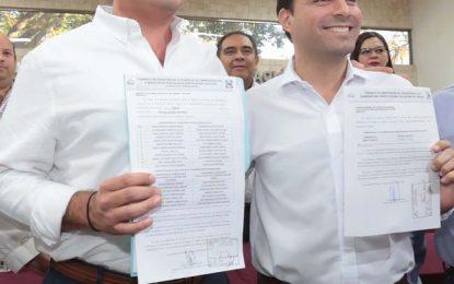 Renán Barrera se registró ante el Iepac como candidato a la Alcaldía de Mérida
