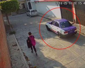 Taxista cobarde y ratero, así asalta a mujer en Morelos