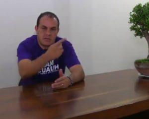 No voy al debate de hoy porque me tienen preparada una trampa: Cuauthémoc Blanco (Video)