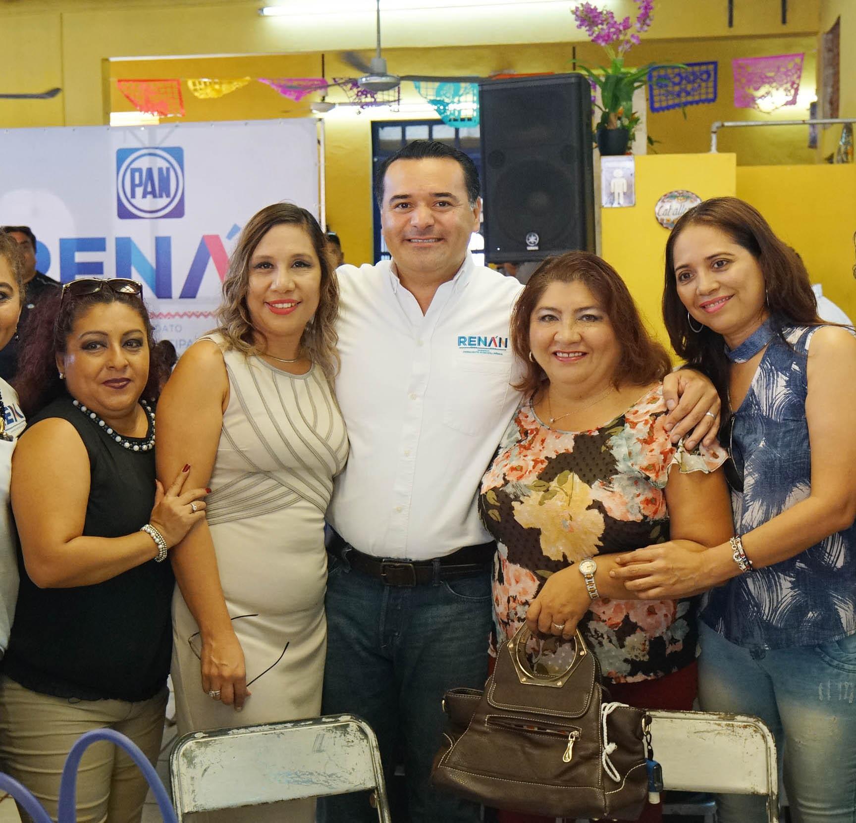 """""""Mérida contará con servicios públicos de máxima calidad"""", Renán Barrera"""