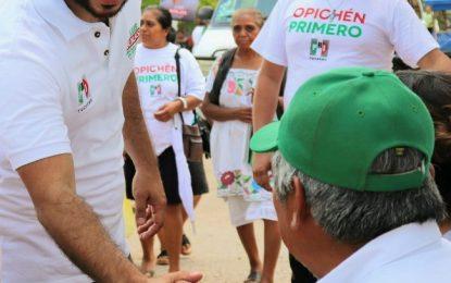 Los adultos mayores merecen una vida más digna: Luis Borjas