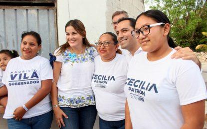 Agradecen a Cecilia Patrón su trabajo en Xoclán Susulá y Nueva Mulsay