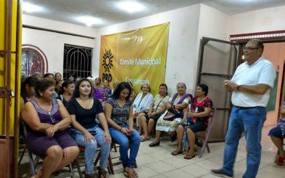 Jorge Zavala da a conocer su plan de gobierno en Cansahcab