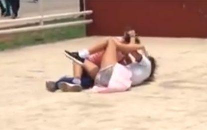 ¡Indignante! Alumnas de una escuela del sur de Mérida se agarran a golpes