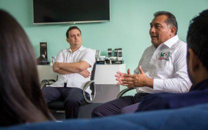 Firme propósito de Víctor Caballero de combatir adicciones, obesidad y suicidios