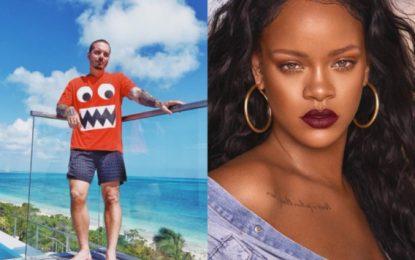 J Balvin queda impactado por Rihanna y ella lo ignora(VIDEO)