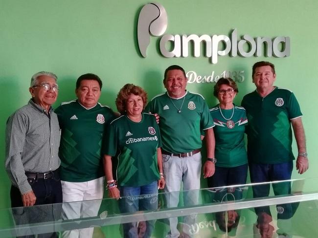 Ana Rosa Payán y el Sindicato Pamplona se ponen la verde para apoyar a la  selección mexicana – www.yucatanalinstante.com a5f12da230247