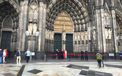 Desalojan catedral de Colonia por presencia de hombre sospechoso