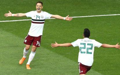 Con goles de Vela y Chicharito, México gana 2-1 vs Corea del Sur