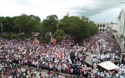 Yucatán ya decidió, AMLO presidente y Huacho gobernador