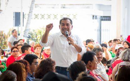 """""""Vamos este primero de julio por una Mérida Mejor"""": Víctor Caballero."""