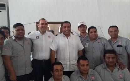 Ofrece Víctor Caballero resolver el caos y el desorden urbano de Mérida.