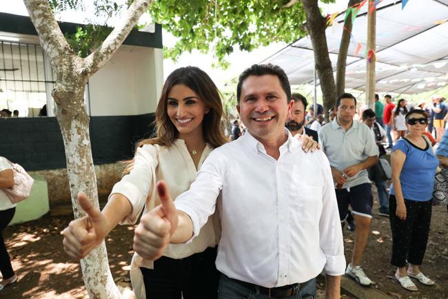 """""""Todos los que aún no han votado, los convocamos a hacerlo en un ambiente de civilidad"""": Mauricio Sahuí"""