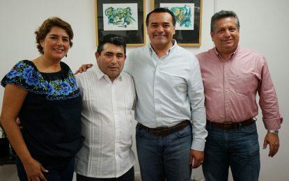 Un Ayuntamiento cercano y sensible, también con los migrantes meridanos: Renán Barrera