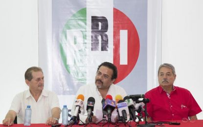 Mauricio Sahuí Rivero cuenta con tendencias favorables manifiesta Carlos Sobrino Argáez