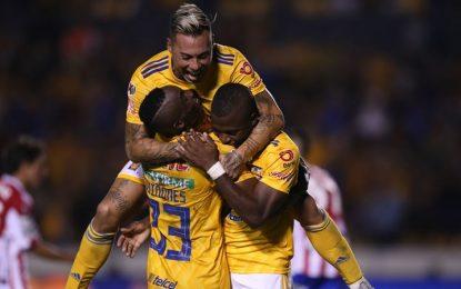 Tigres revivió en Copa MX a punta de golazos