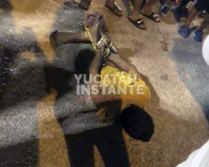 Dan de alta a niña de 8 años que fue atacada por sujeto en el sur de Mérida